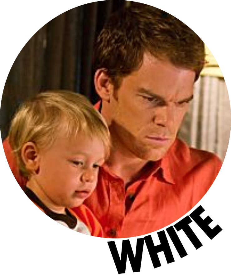 Dexter Morgan white