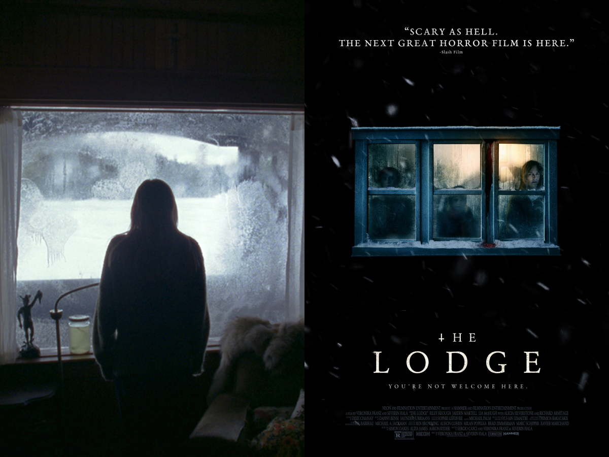 the lodge still and movie poster
